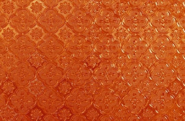 Fundo de textura de janela de roseta de vitral com alta resolução.