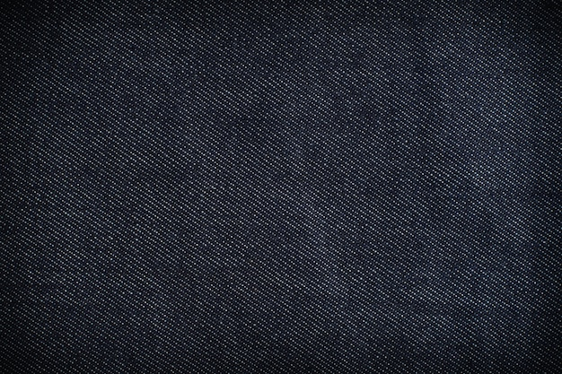 Fundo de textura de jeans azul escuro.