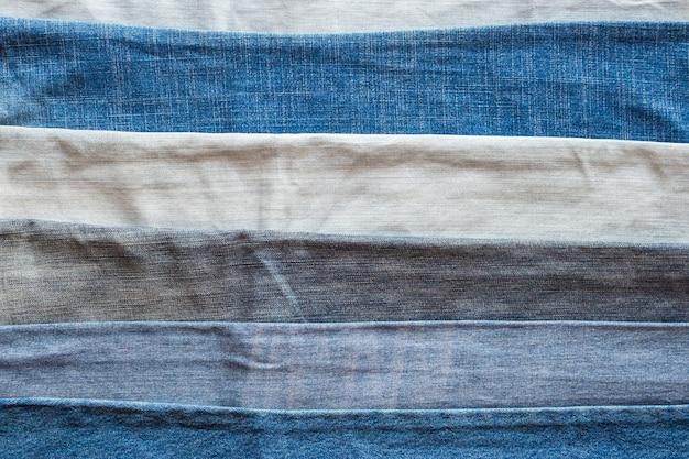 Fundo de textura de jeans azul jeans
