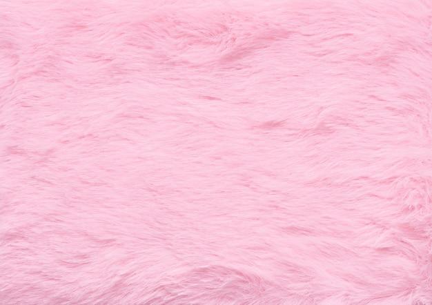 Fundo de textura de lã fofa cor de ping abstrato