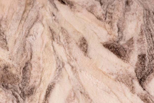 Fundo de textura de lã macia branca, pele com um delicado tom de pêssego