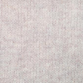 Fundo de textura de lã tricotada. tricô simples