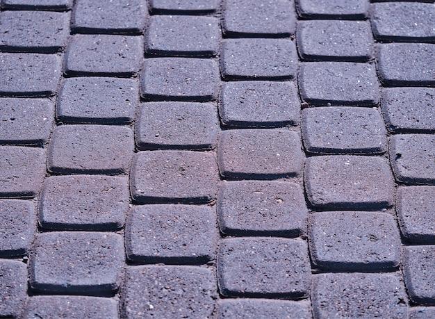 Fundo de textura de ladrilhos de concreto de rua hd