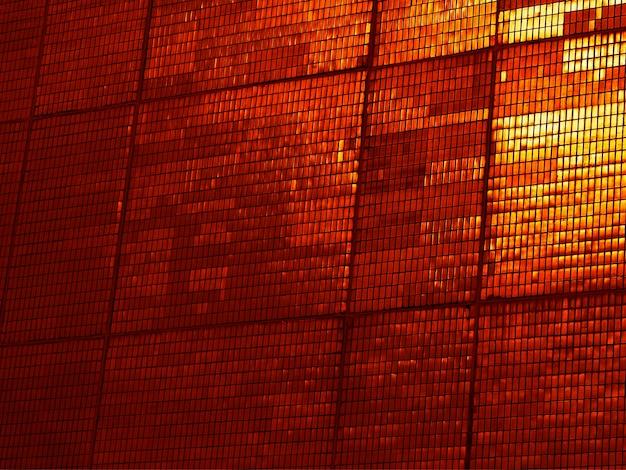 Fundo de textura de ladrilhos laranja do pôr do sol diagonal hd