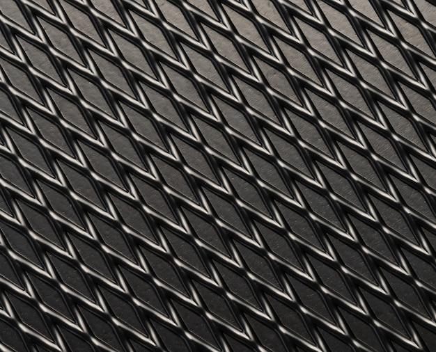 Fundo de textura de linha abstrata geometria metal