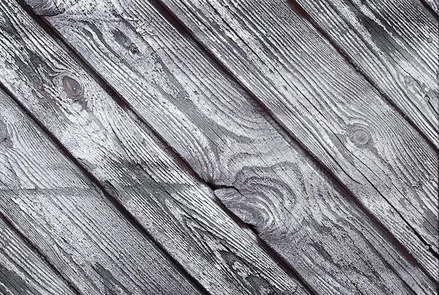 Fundo de textura de madeira cinza e branco desgastado