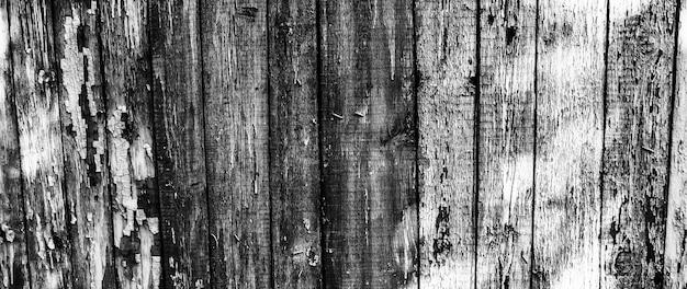 Fundo de textura de madeira e pranchas de madeira vintage