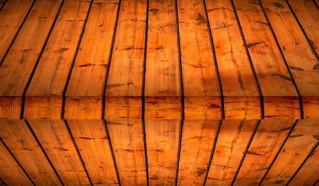 Fundo de textura de madeira e telhado de madeira darl.