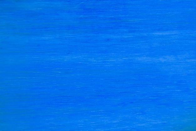 Fundo de textura de madeira pintado de azul.
