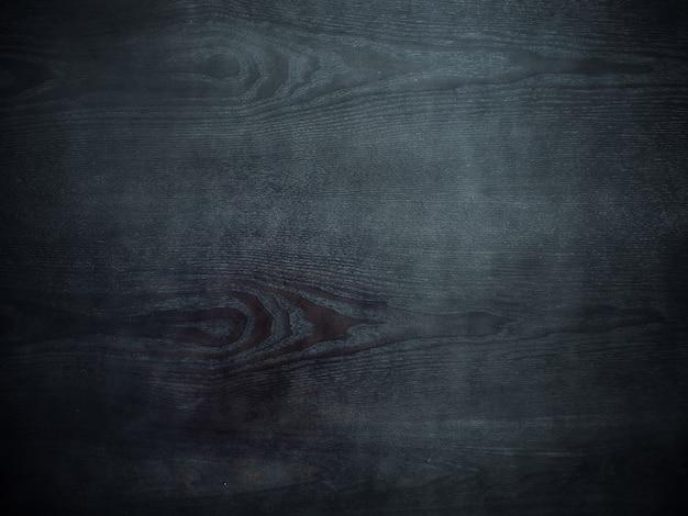 Fundo de textura de madeira preta escura