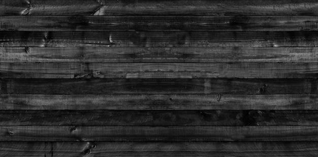 Fundo de textura de madeira preta para o cenário de design em objetos decorativos de conceito.