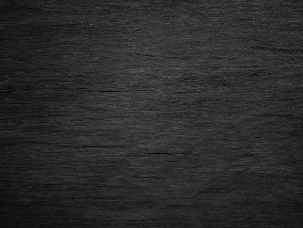 Fundo de textura de madeira preta.