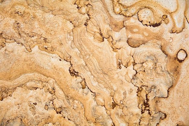 Fundo de textura de mármore amarelo