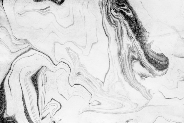 Fundo de textura de mármore branco e preto