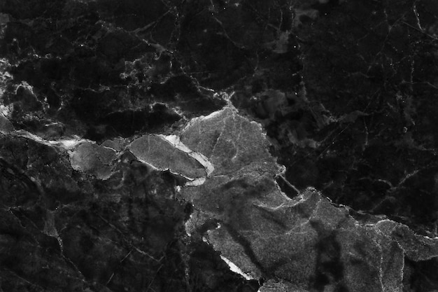 Fundo de textura de mármore cinza preto com alta resolução, vista superior do piso de pedra azulejos naturais na superfície de brilho sem costura de luxo