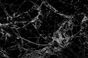 Fundo de textura de mármore natural preto e branco