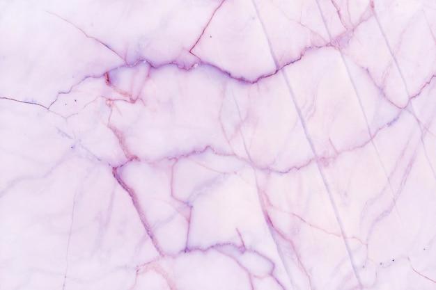 Fundo de textura de mármore pastel roxo em padrão natural com alta resolução,