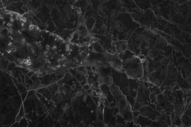 Fundo de textura de mármore preto branco