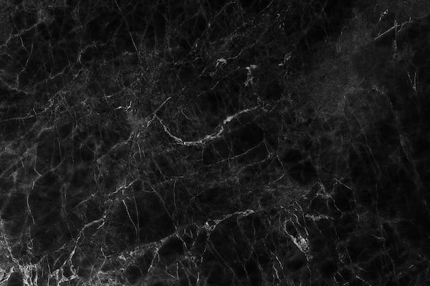 Fundo de textura de mármore preto, textura de mármore abstrata (padrões naturais)