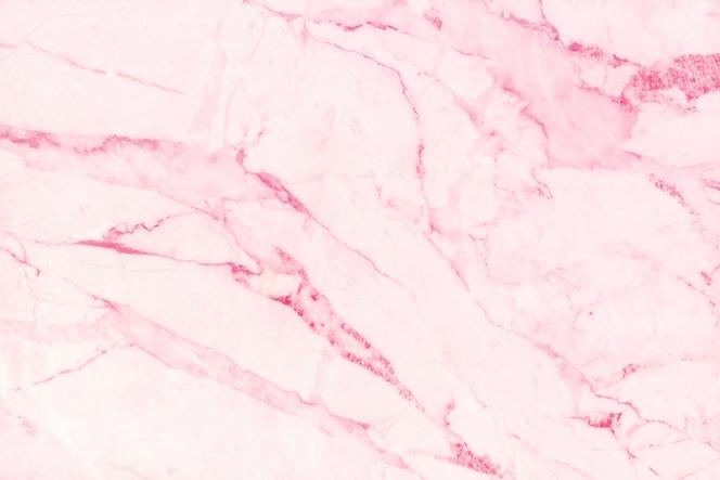 Fundo de textura de mármore rosa em design natural