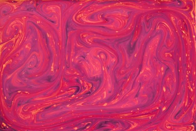 Fundo de textura de marmorização cor quente vermelho