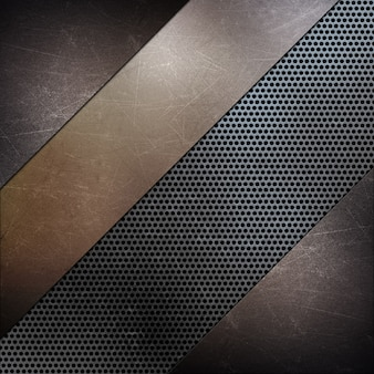 Fundo de textura de metal abstrato