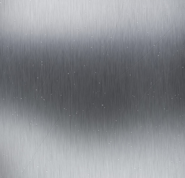 Fundo de textura de metal com arranhões e manchas