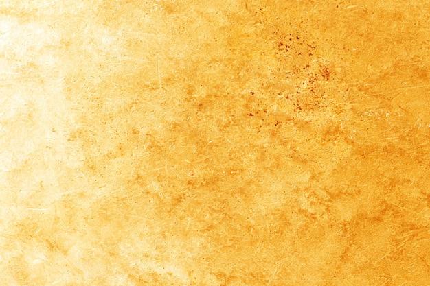 Fundo de textura de metal dourado grunge