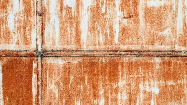 Fundo de textura de metal enferrujado grunge para decoração interior exterior e design de conceito de construção industrial