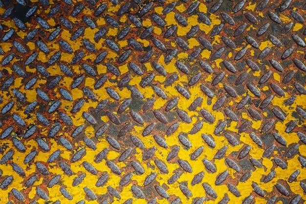 Fundo de textura de metal enferrujado