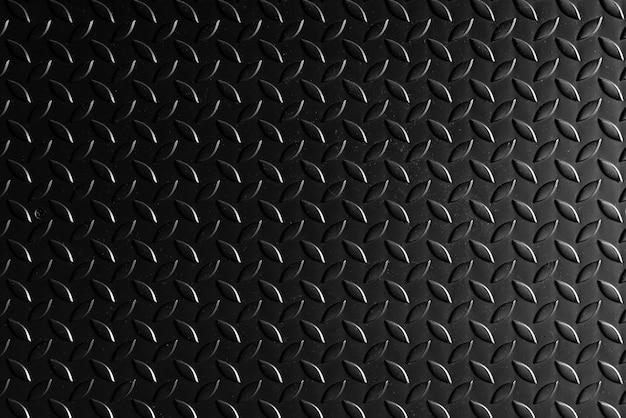 Fundo de textura de metal preto de aço