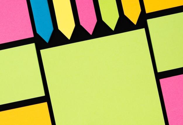 Fundo de textura de nota de papel adesivo