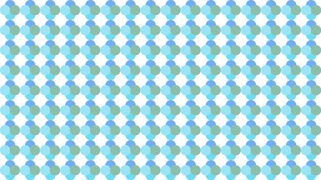 Fundo de textura de padrão sem emenda de círculo de pontos azuis, papel de parede macio borrado