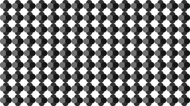Fundo de textura de padrão sem emenda de círculo de pontos cinzentos, papel de parede macio borrado