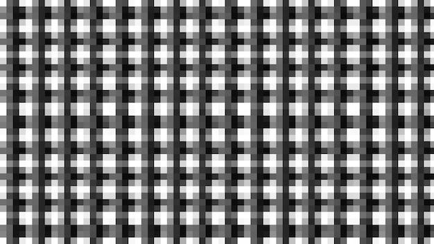 Fundo de textura de padrão sem emenda de mesa de linha preto e branco, papel de parede macio borrado