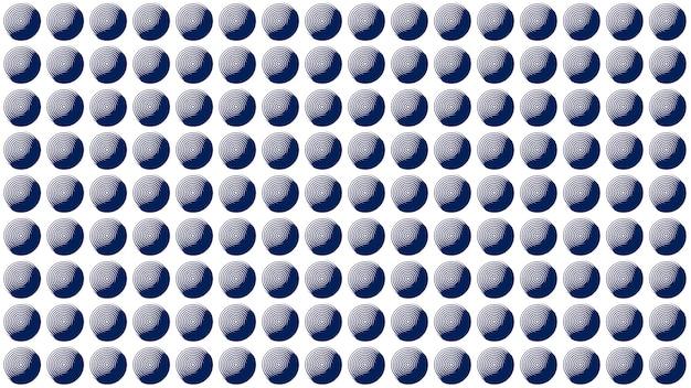 Fundo de textura de padrão sem emenda de pontos azuis, papel de parede com desfoque suave
