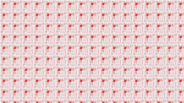 Fundo de textura de padrão sem emenda vermelho e branco, papel de parede de desfoque suave