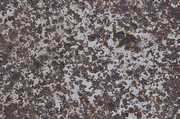 Fundo de textura de painel de metal enferrujado