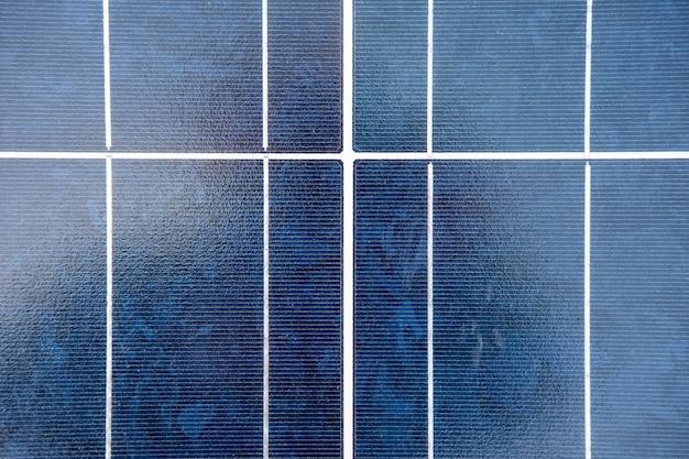 Fundo de textura de painel solar