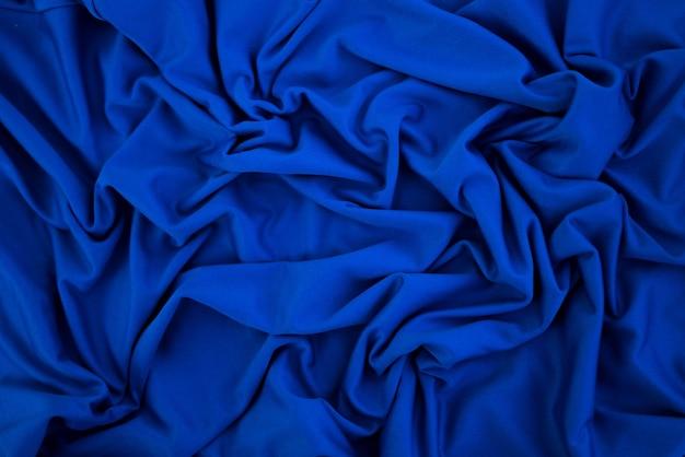 Fundo de textura de pano azul