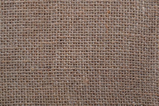 Fundo de textura de pano de saco.