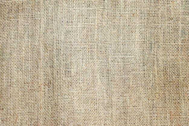 Fundo de textura de pano de saco