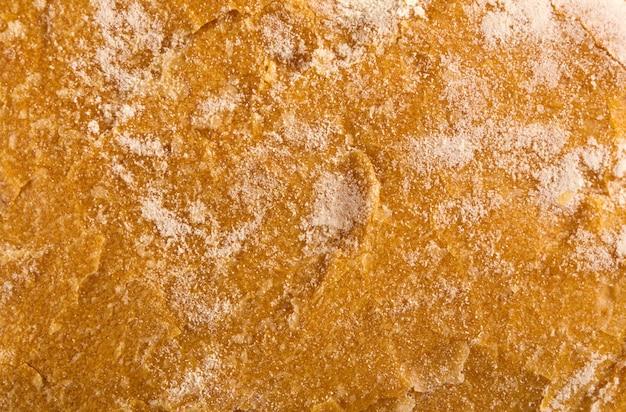 Fundo de textura de pão fresco