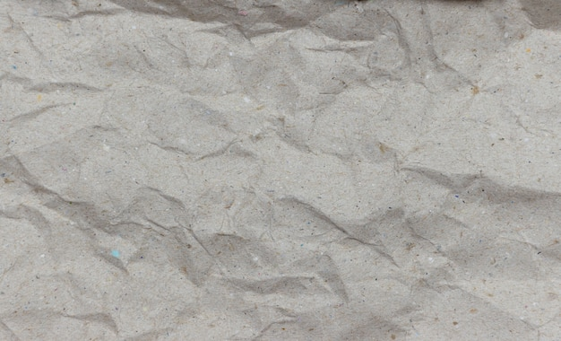 Fundo de textura de papel amarrotado marrom
