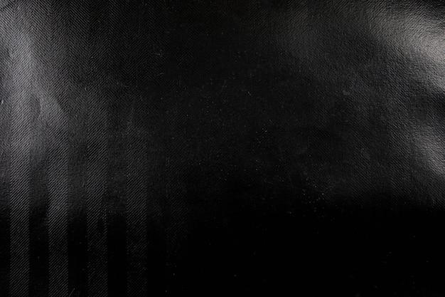 Fundo de textura de papel amassado preto.