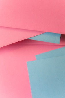 Fundo de textura de papel cinza e rosa
