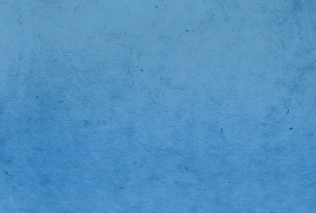 Fundo de textura de papel de amoreira de cor azul