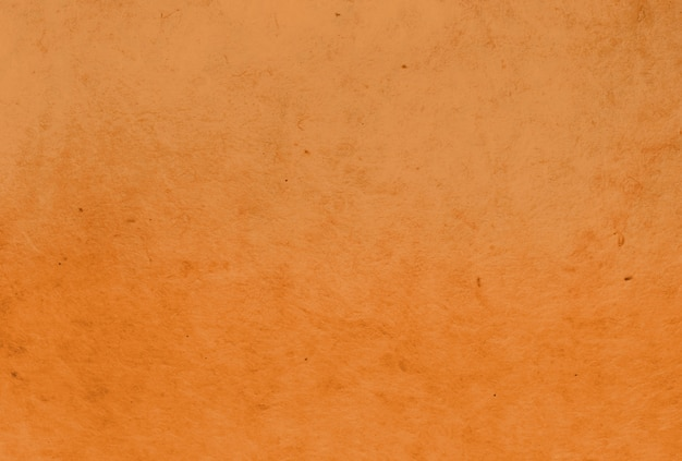 Fundo de textura de papel de amoreira de cor laranja