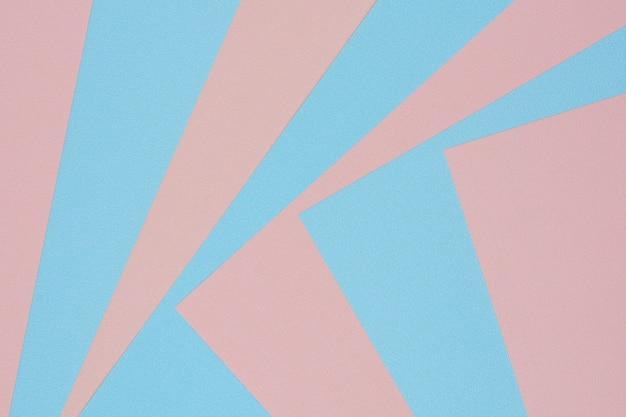 Fundo de textura de papel-de-rosa e azul
