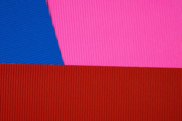 Fundo de textura de papel ondulado de cor multi